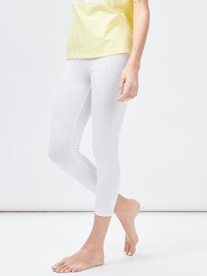 Legging 78eme blanc femme