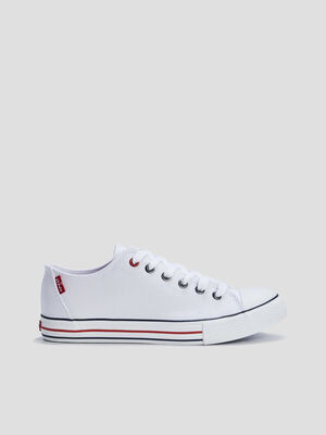 Baskets tennis Levis blanc garcon