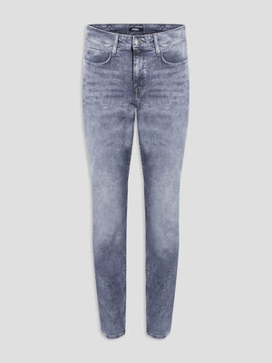 Jeans straight Liberto gris homme
