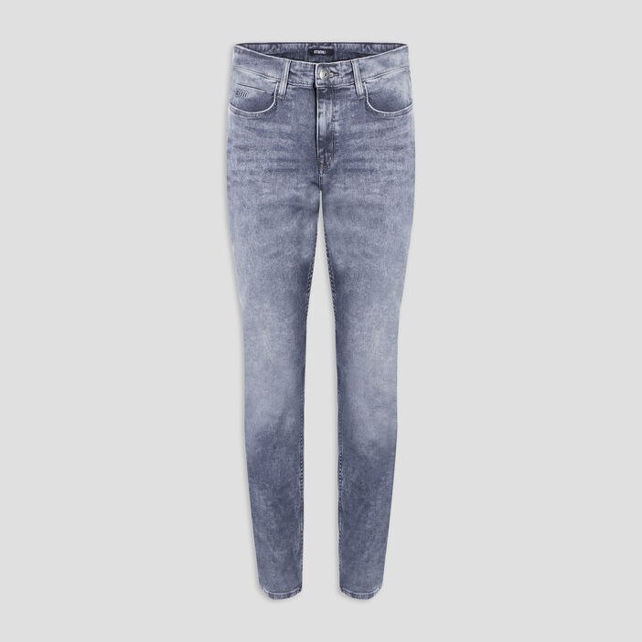 Jeans straight Liberto homme gris