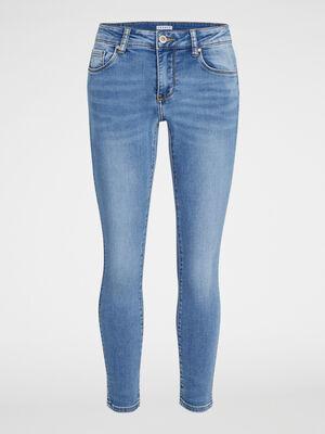 Jean skinny taille basse denim stone femme