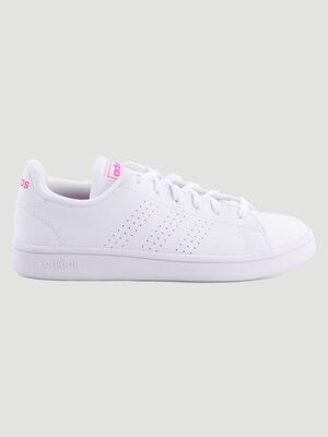 Tennis Adidas ADVANTAGE BASE blanc femme
