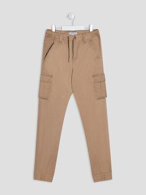 Pantalon battle Creeks beige garcon