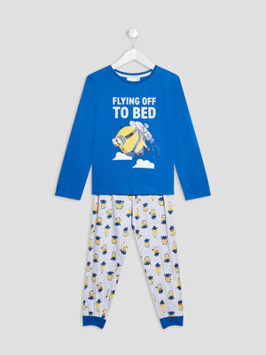Ensemble pyjama Les Minions bleu garcon