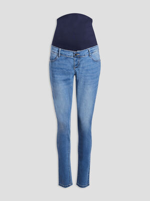 Jeans slim grossesse denim double stone femme
