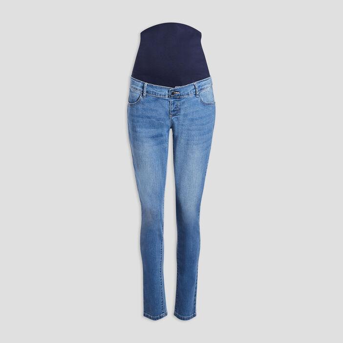 Jeans slim grossesse femme denim double stone