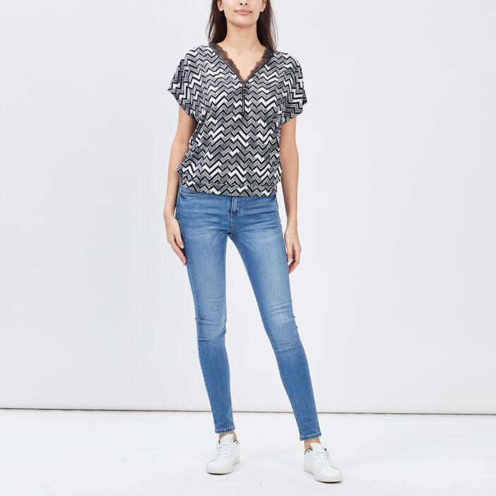 T-shirt Mosquitos femme noir