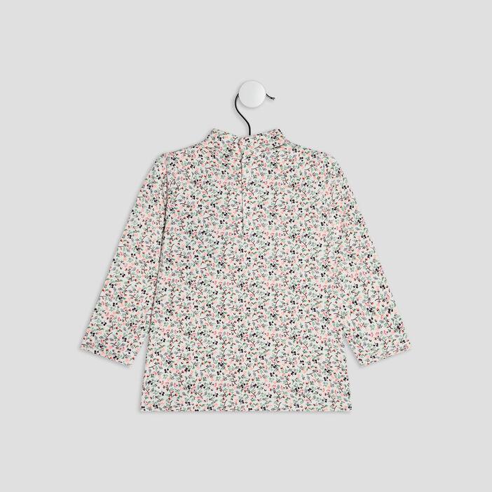 T-shirt manches courtes bébé fille multicolore
