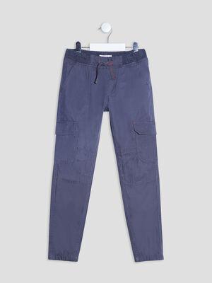 Pantalon battle bleu garcon