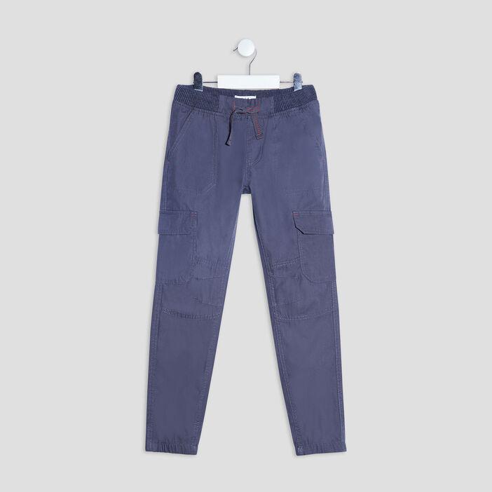 Pantalon battle garçon bleu