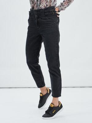 Jeans mom 78eme denim noir femme