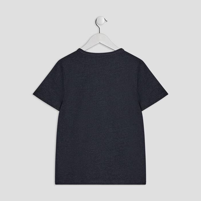 T-shirt manches courtes Creeks garçon bleu