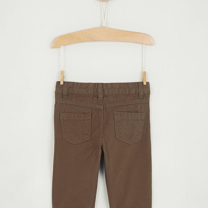 Pantalon uni coupe droite bébé garçon camel