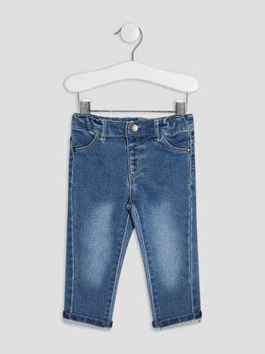 Jeans droit 4 poches denim brut bebeg