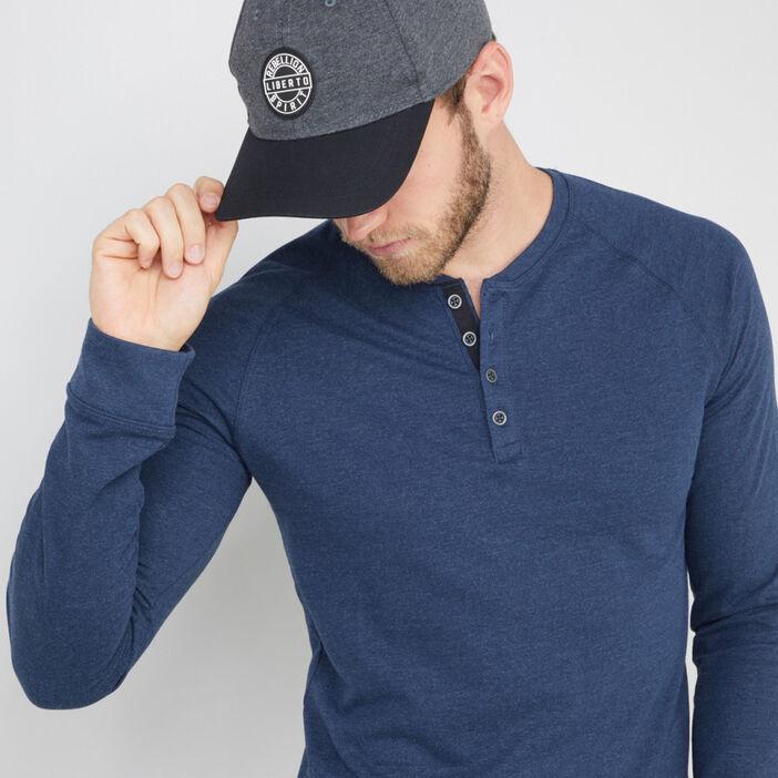 Casquette, bonnet, chapeau homme gris foncé