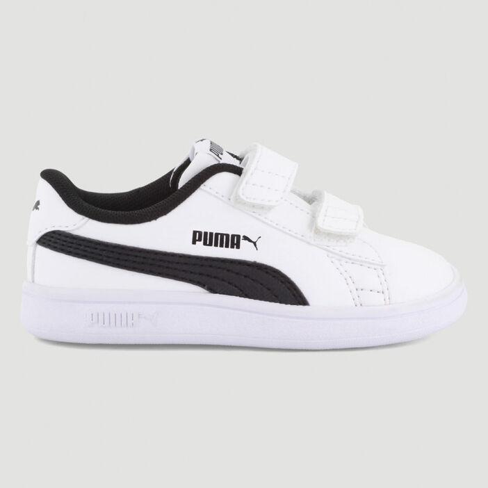 Tennis Puma SMASH V2 garçon blanc