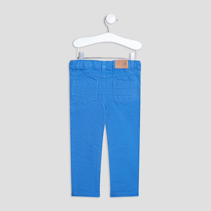 Pantalon droit Creeks bébé garçon bleu