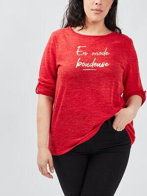 T shirt rouge femmegt