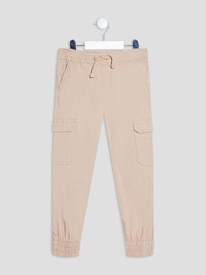 Pantalon battle beige garcon