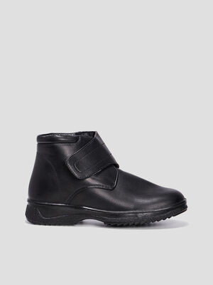 Bottines a scratch noir homme