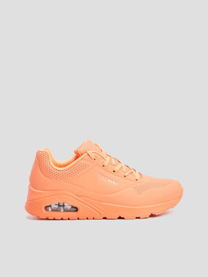 Runnings Skechers orange femme