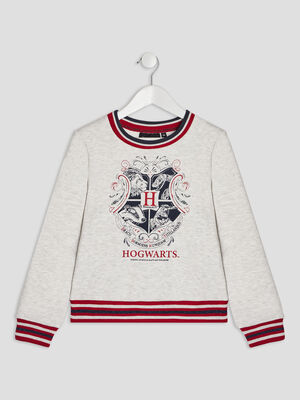 Sweat Harry Potter gris fille