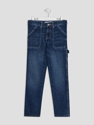 Jeans regular Creeks denim stone garcon
