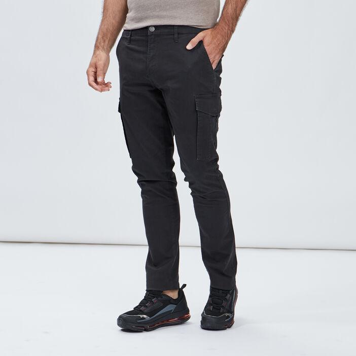 Pantalon battle homme gris fonce
