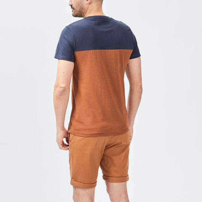 T-shirt Trappeur homme camel