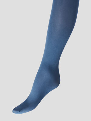 Lot 3 collants bleu fille