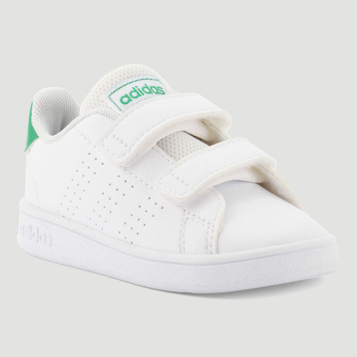 Tennis Adidas ADVANTAGE fille blanc