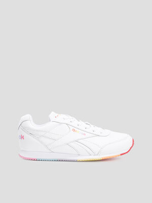 Baskets running Reebok blanc fille