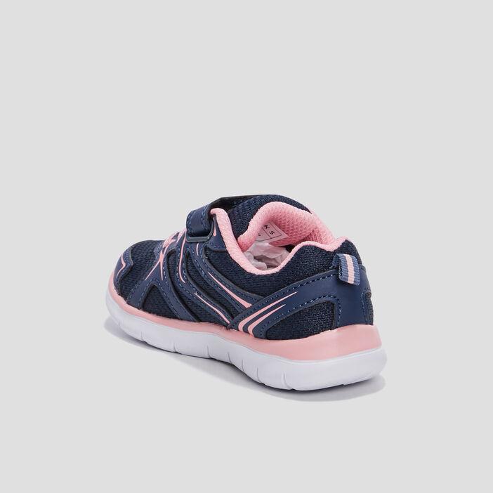 Baskets plates Creeks bébé fille bleu