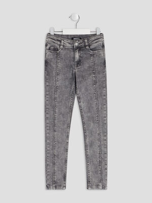 Jeans skinny Liberto gris fille