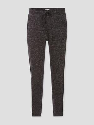 Pantalon de jogging chine gris fonce homme