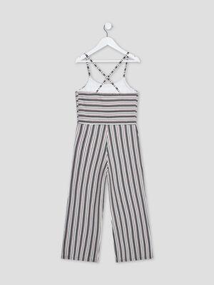 Combinaison pantalon multicolore fille