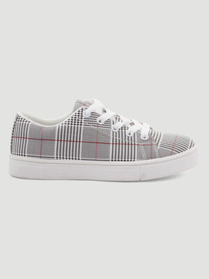 BASKETSTENNIS BASSES gris fille