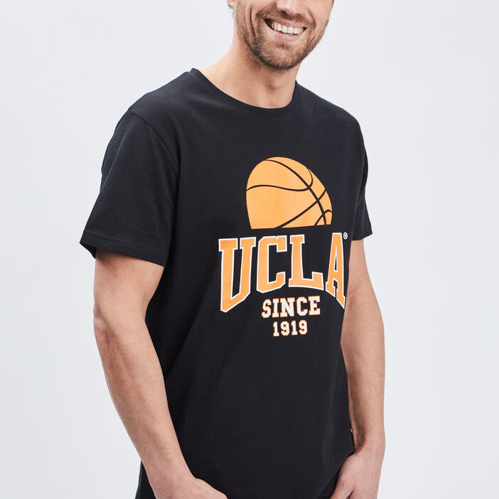 T-shirt manches courtes UCLA homme noir