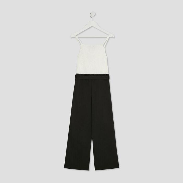 Combinaison pantalon Creeks fille noir