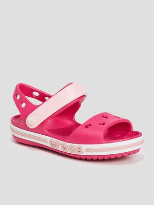 Sandales Crocs rose fille
