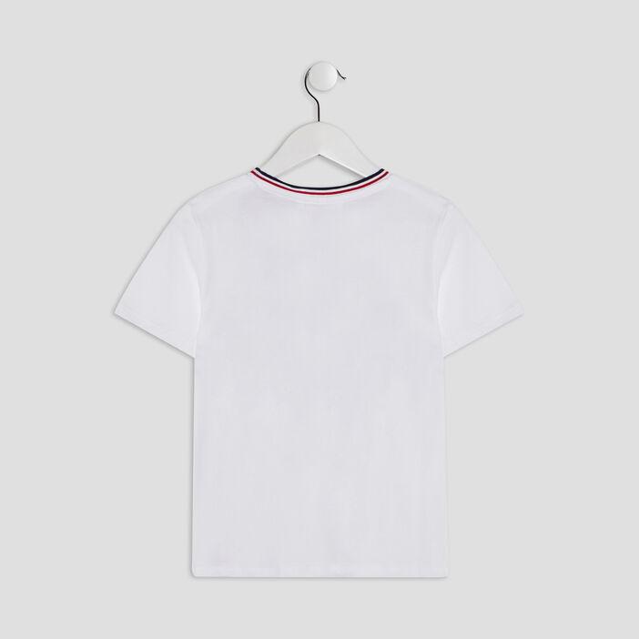 T-shirt Spider-Man garçon blanc