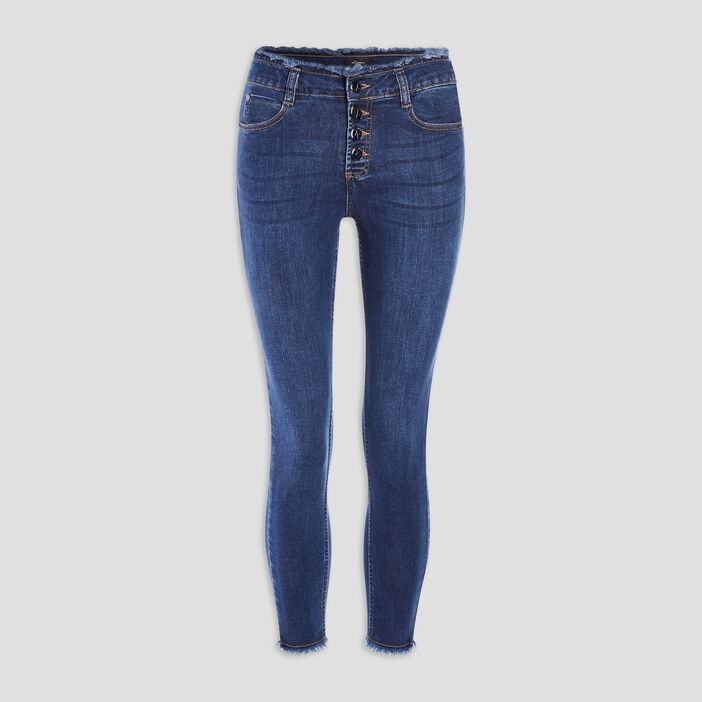 Jeans skinny Mosquitos femme denim double stone