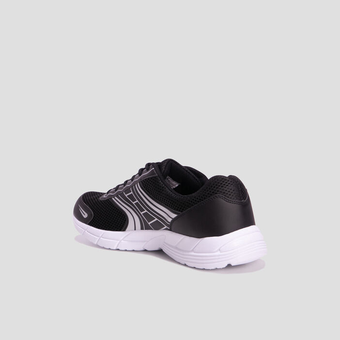 Baskets running homme noir