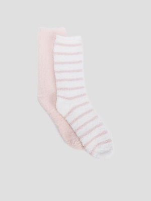 Chaussettes rose femme