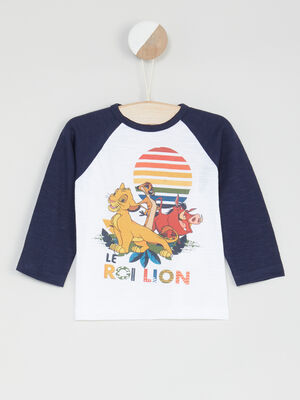 T shirt Le Roi Lion multicolore bebeg
