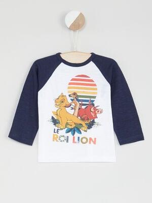 T shirt Le Roi Lion multicolore bebeg
