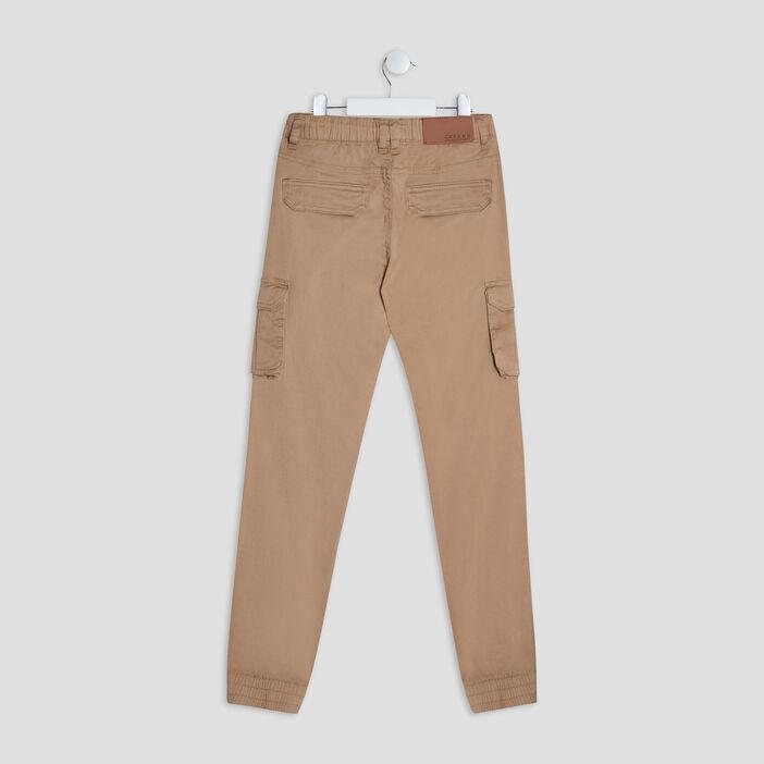 Pantalon battle Creeks garçon beige