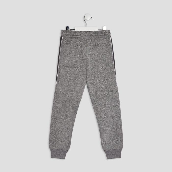 Jogging à taille élastiquée garçon gris