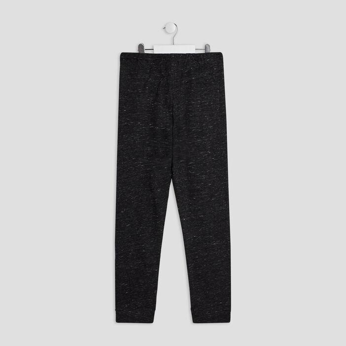 Pantalon jogging garçon gris foncé
