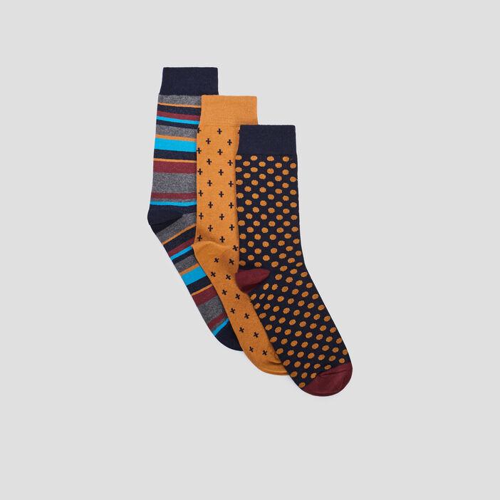 Chaussettes homme multicolore